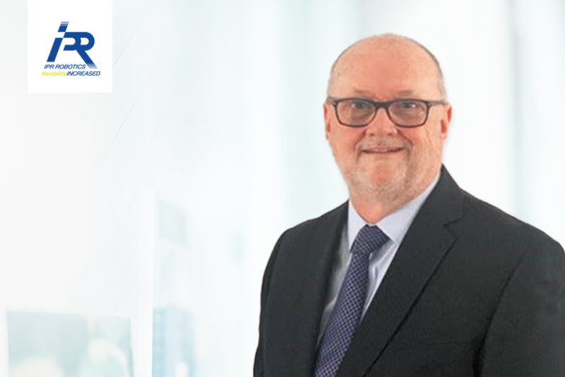 A new face at IPR Robotics – Martin Ryder is the new President