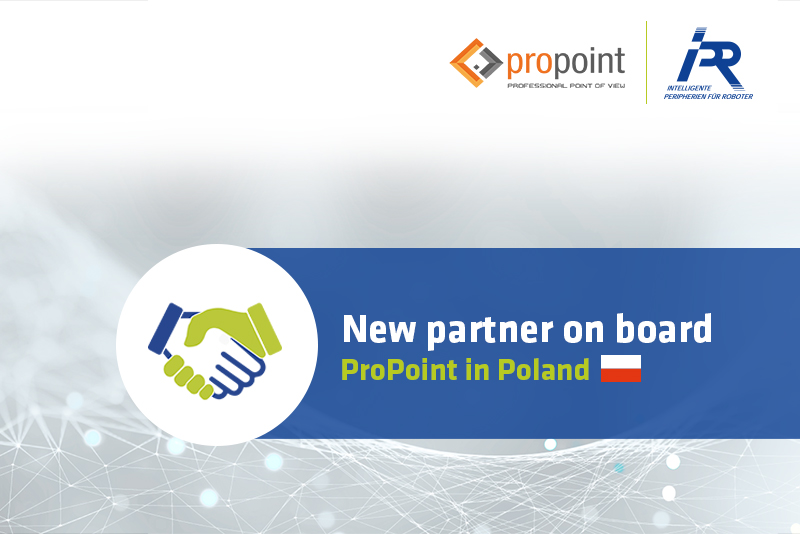 New sales partner on board: With ProPoint we are now also represented in Poland