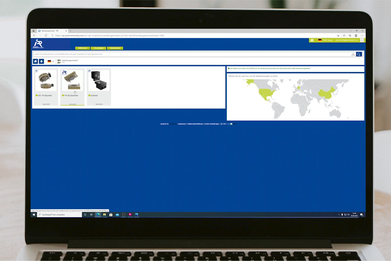Customize your tool changer – simple via our configurator