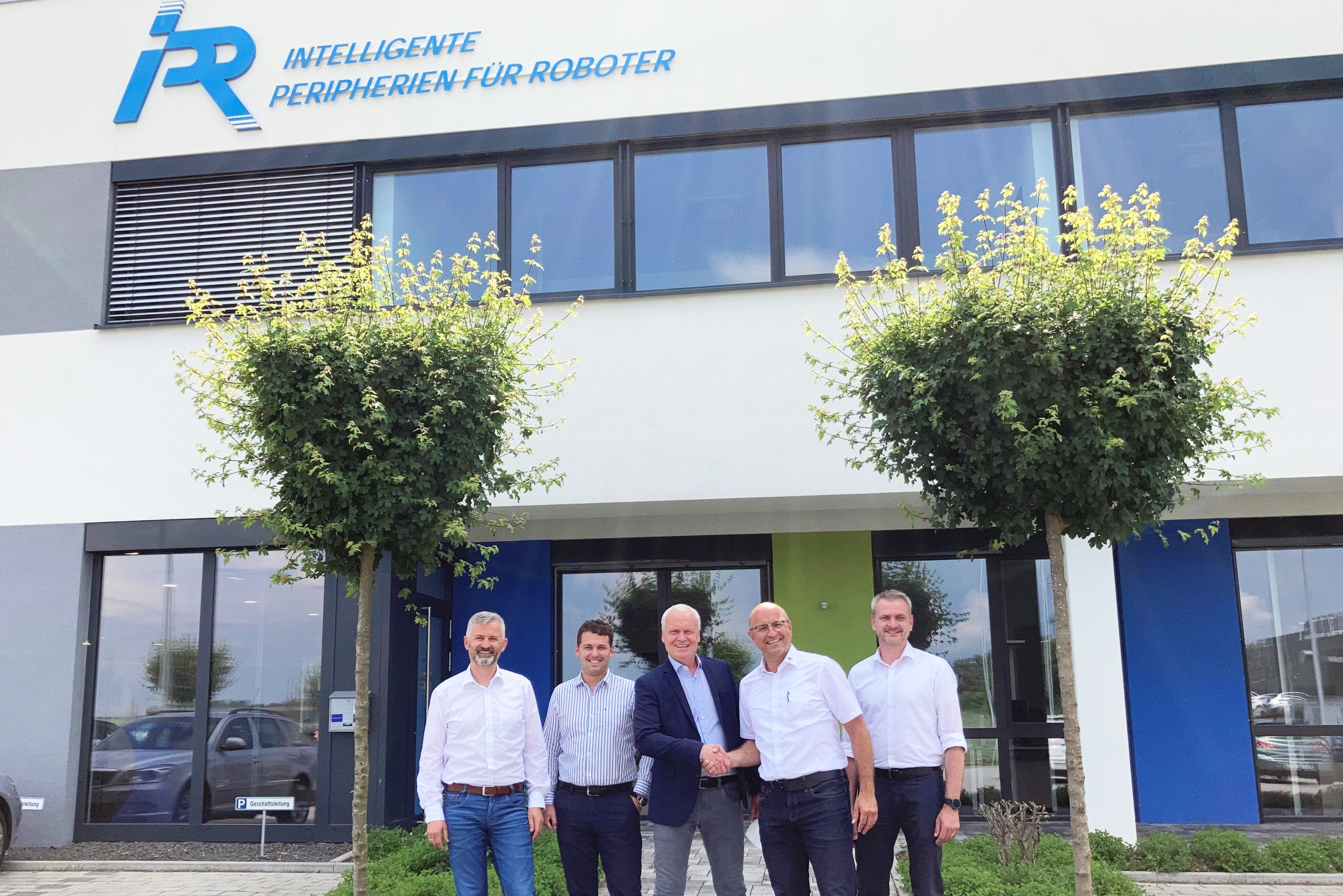 Visit from our new sales partner: STASTO Automation